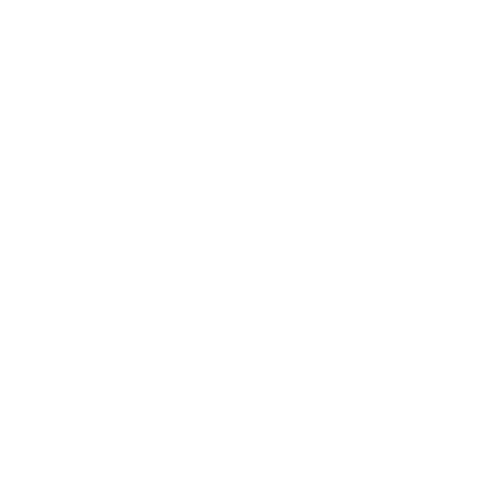Line icon of two tooths with dental aligners on them