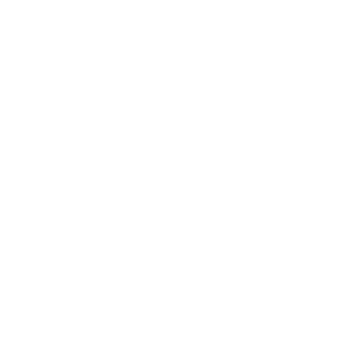 White line icons of shining tooth