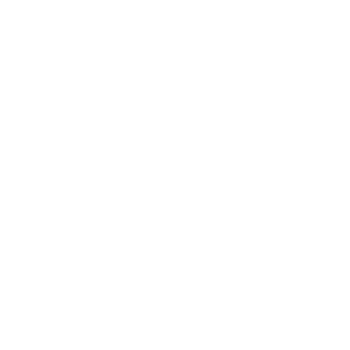 White line icon of a tooth in a gum