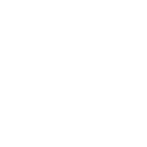 White line icon of a tooth getting crowns