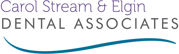 Carol Stream and Elgin Dental Associates scroll Logo